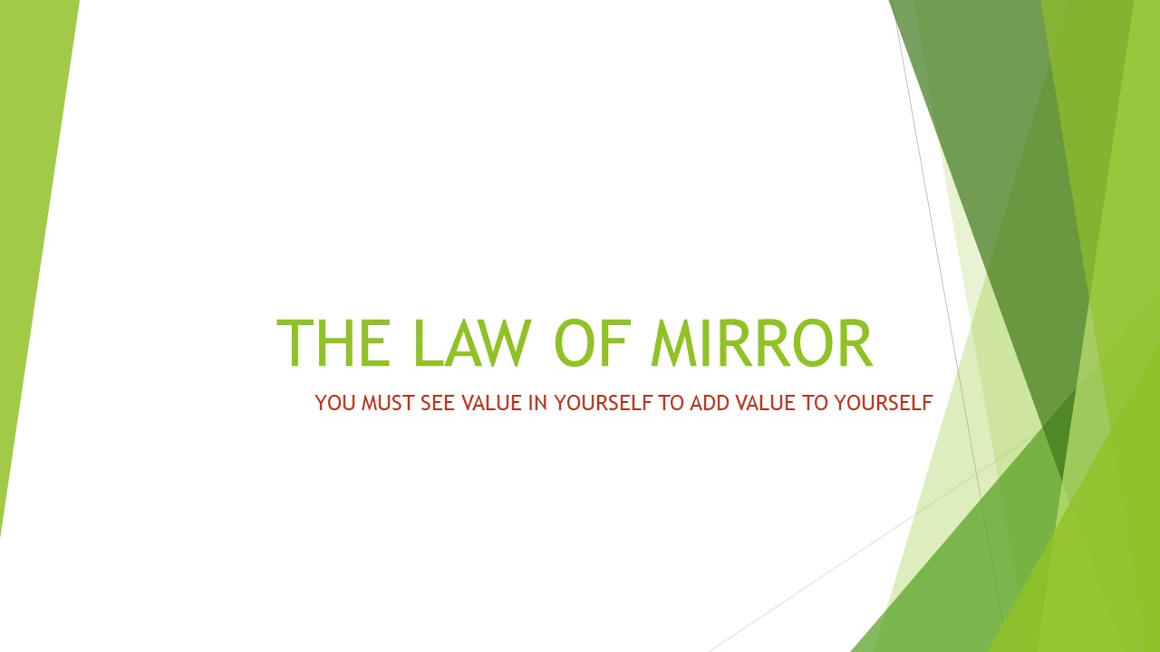 THE LAW OF MIRROR
