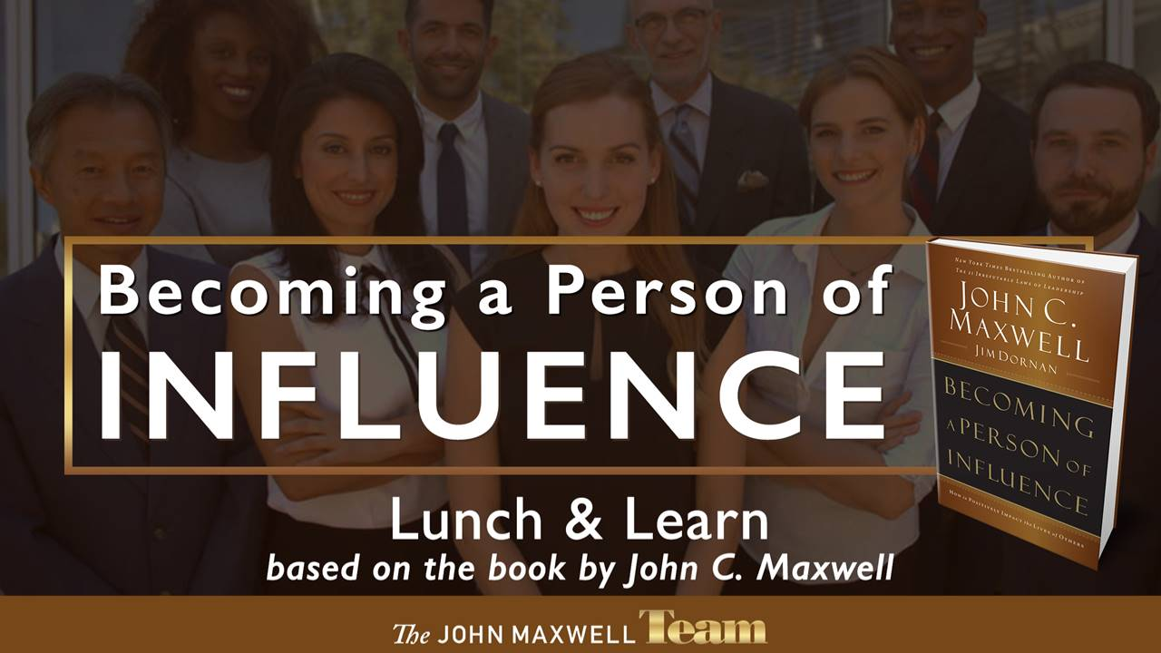 become person of influence